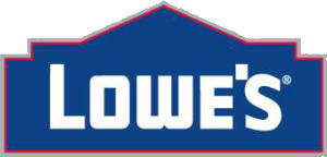 Lowe's Home Improvement Stores logo, Pinewood Derby