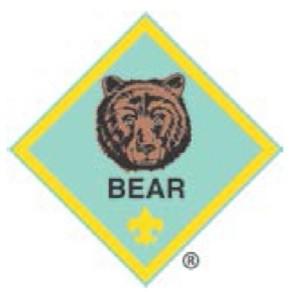 Bear Rank Badge