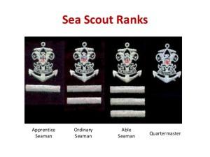 Sea Scout Ranks