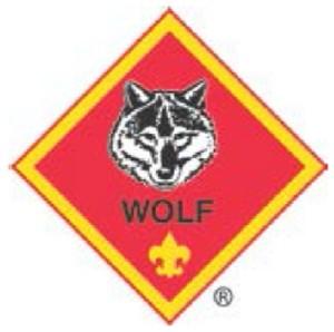 wolf rank badge